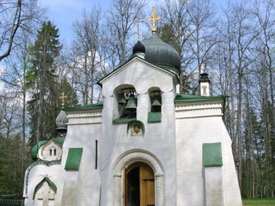 Church of the Savior, on the Abramtsevo estate, designed by Viktor Vasnetsov and Vasily Polenov, completed 1881–82