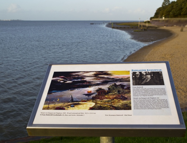euroArt: Dangast - Kunstpfad am Kurhausstrand in Dangast