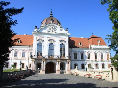 The Main Facade of the Royal Castle Gödöllő