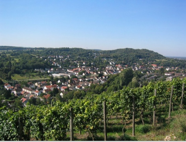 euroArt: View over Grötzingen