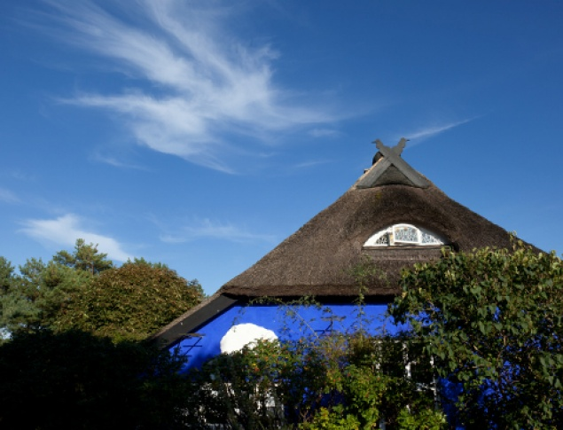 Hiddensee Blue House