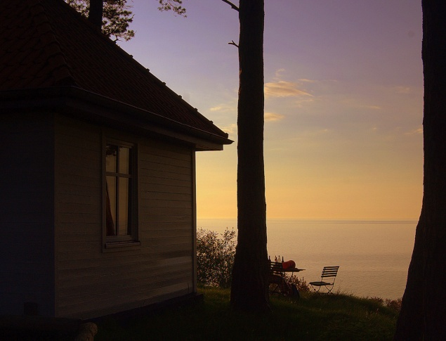 euroArt: Hiddensee view Baltic Sea
