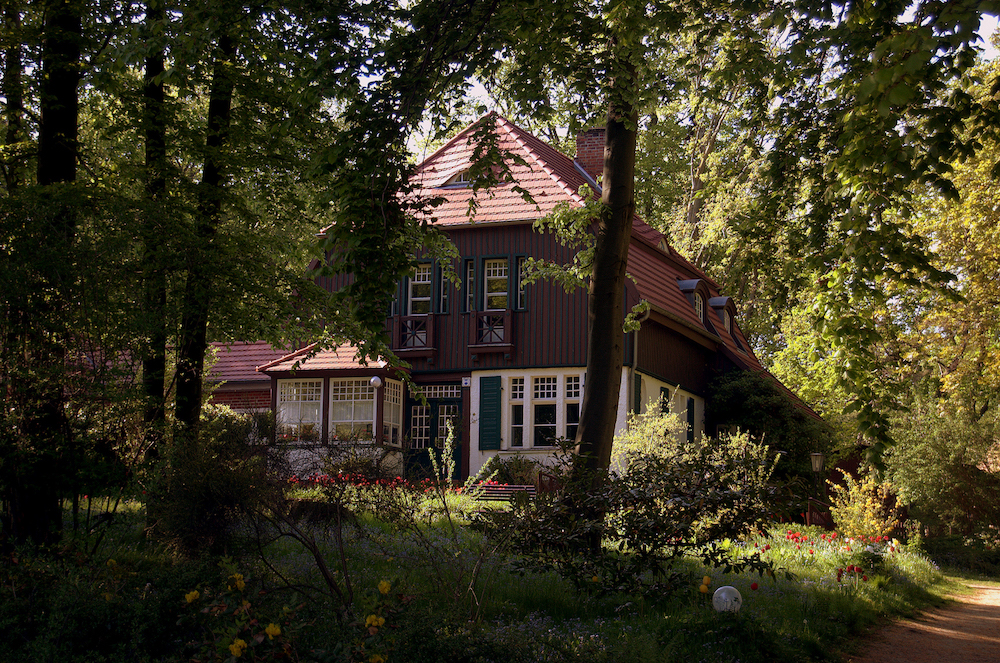 Hiddensee Hauptmann Haus Robert Ott