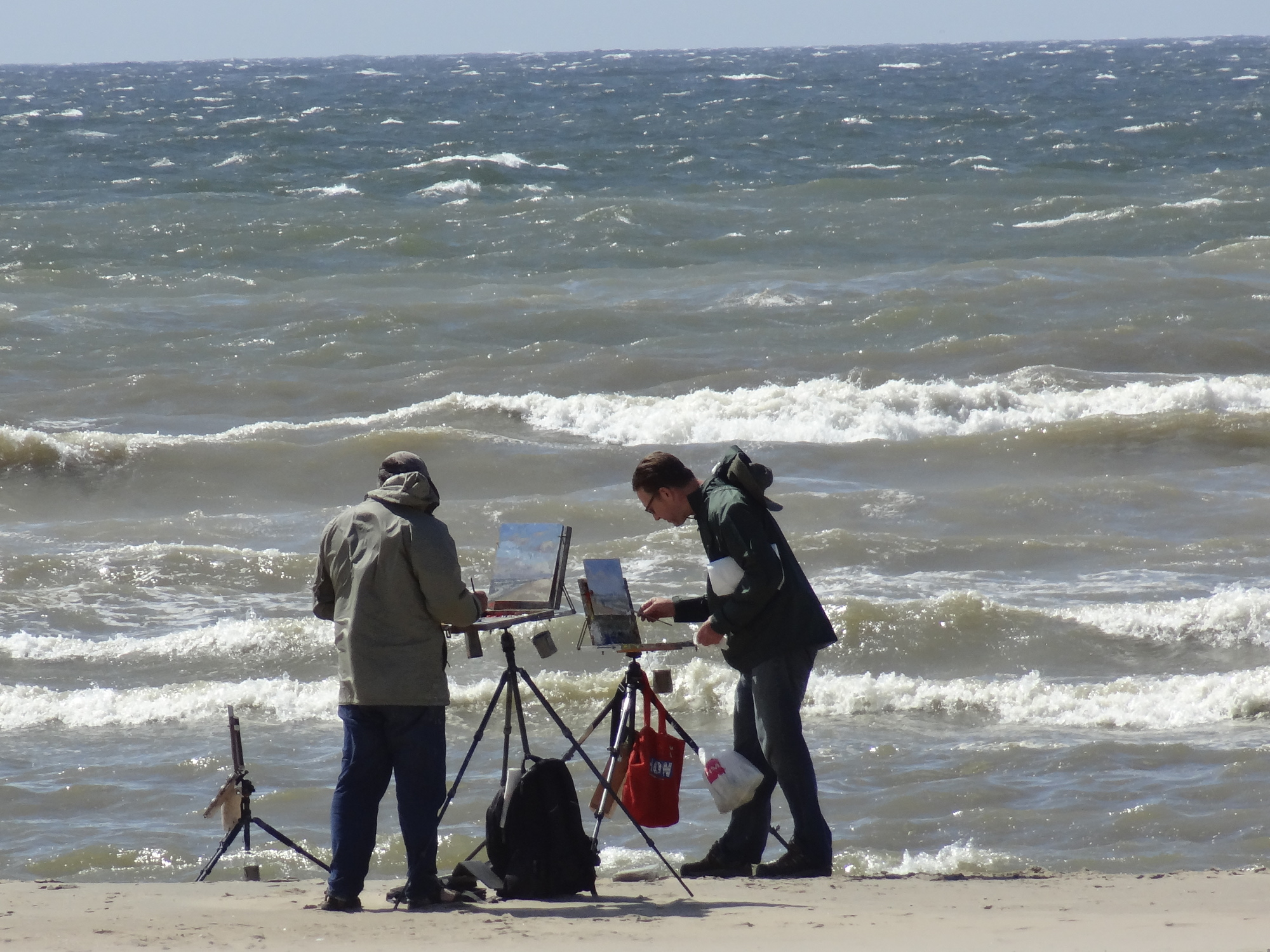 euroArt: Windy Day in Katwijk