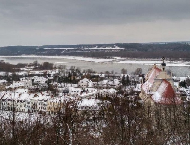 euroArt: Kazimierz-Dolny - View over the cit