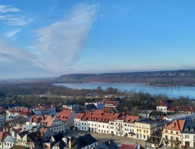 euroArt: Kazimierz-Dolny - View over the city