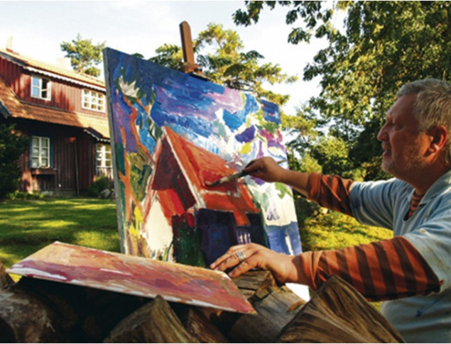 euroArt: Plein-air painter Nida