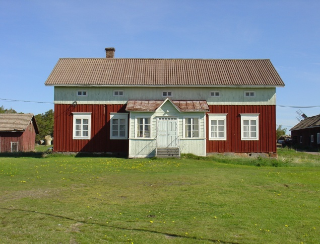 euroArt: The Jonesas farmhouse Önningeby