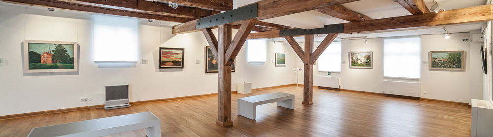 euroArt: historical room in the mill Schwaan