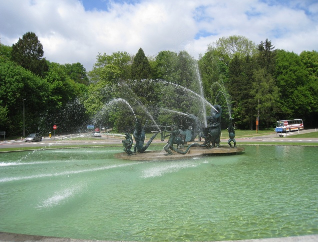 euroArt: Fountain Tervuren