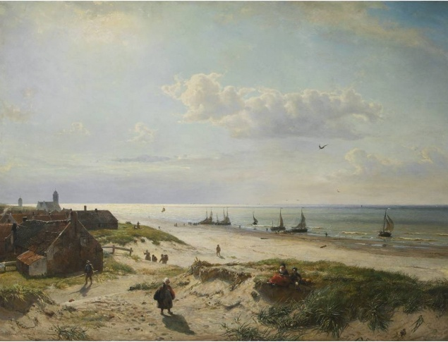 W.A. van Deventer, Katwijk on the Sea, 1860, Katwijks Museum (on loan)