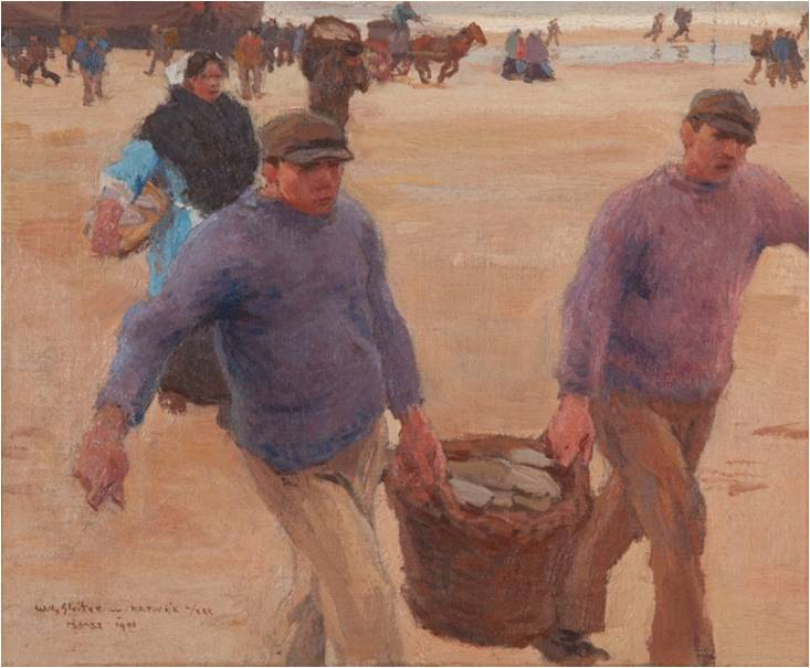 Willy Sluiter 1873 1949 Verse Visch Fresh Fish Katwijks Museum