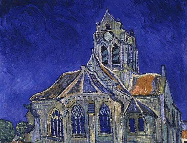 Vincent van Gogh, The Church at Auvers, 1890. Musée d'Orsay, Paris
